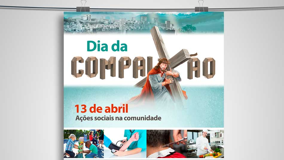 Cartaz A3 – Dia da Compaixão 2014
