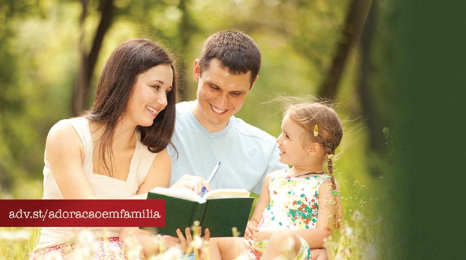 Marca Página: Adoração em Família 2014