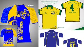 Camisetas Calebes para o Esperança Brasil