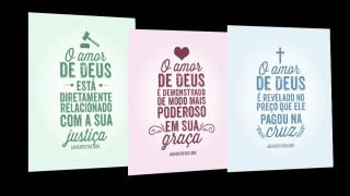 Cartões Amor de Deus