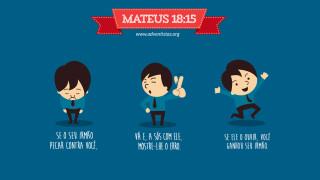Cartão: Mateus 18:15