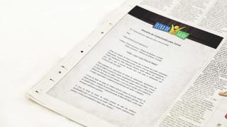Modelo: Anúncio no jornal – Feira de Saúde