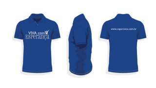 Camiseta: Evangelismo Viva com Esperança