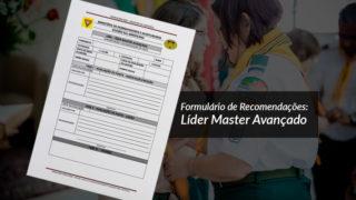 Recomendações: Líder Master Avançado