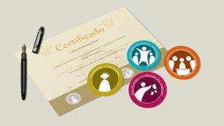 Nível 1: Selos e Certificado – Curso de liderança Adolescentes