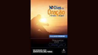 Banner: 10 Dias de oração e 10 horas de jejum 2015