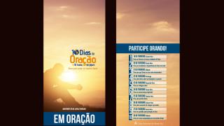 Suporte para porta: 10 dias de oração e 10 horas de jejum 2015