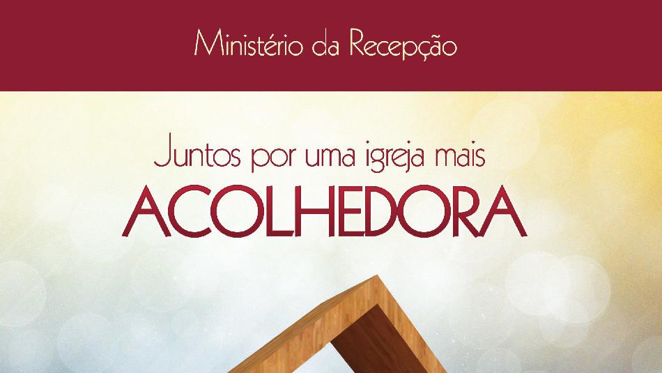 caderno ministério de recepção