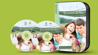 Capa e label do DVD – Encontro de Pais 2015