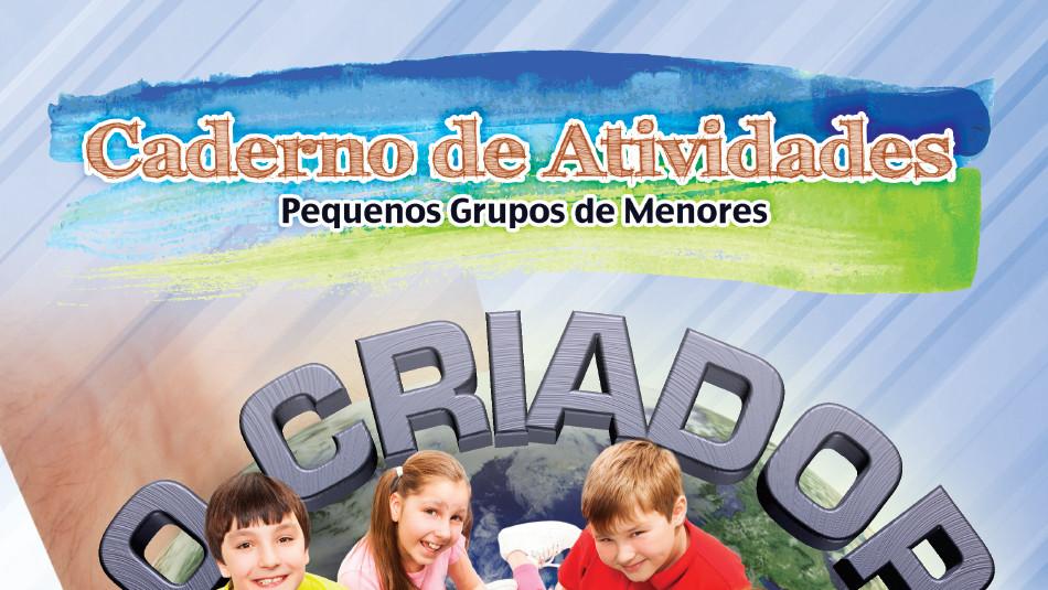 caderno de atividades para pequeno grupo de menores