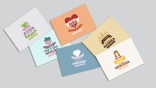 Cartões para imprimir Minha mãe é – Dia das Mães