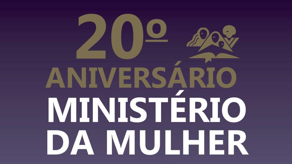 aniversário ministério da mulher