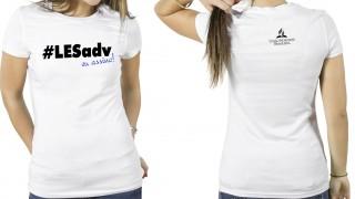 Camisa #LESAdv Branca