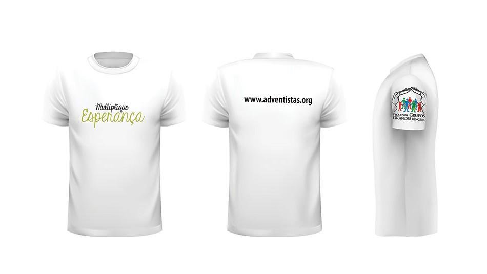 camiseta multiplicando pequenos grupos