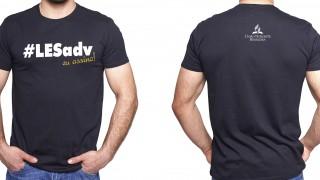 Camisa #LESAdv Preta