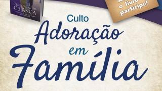 Banner: Adoracão em família 2015