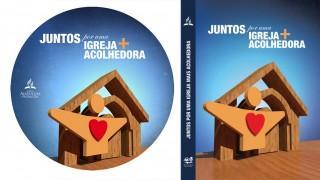 Capa e label – DVD Igreja acolhedora | Ministério de recepção