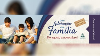 Marca página: Adoração em família 2015