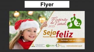Flyer Mutirão de Natal 2015