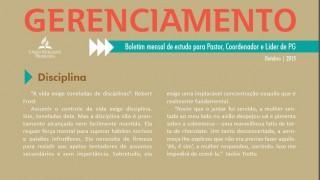 Boletim de Gerenciamento de PG – Outubro/2015