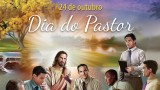 Cartaz aberto PSD: Dia do pastor 2015