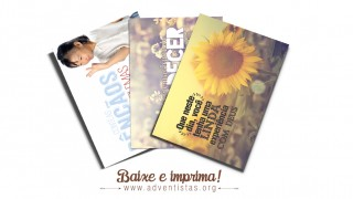 Cartões para imprimir – PDF