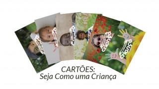 Cartões: Seja Como uma Criança