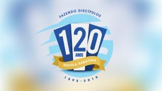 Logo Escola Sabatina 120 anos