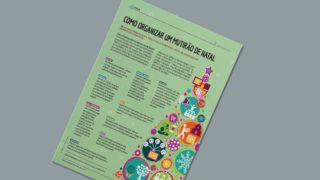 Infográfico – Como organizar um Mutirão de Natal