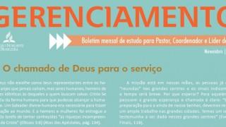 Boletim Gerenciamento de PG – Novembro/2015