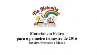 Apostila: Lista de materiais – Ministério da Criança 2016
