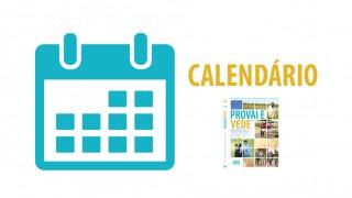 Calendário Provai e Vede 2016