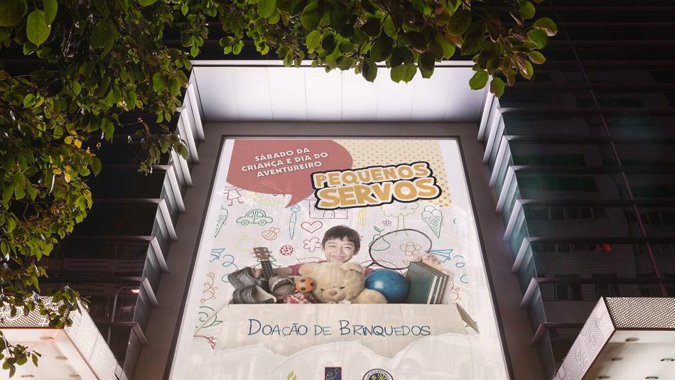 cartaz adoracao infantil