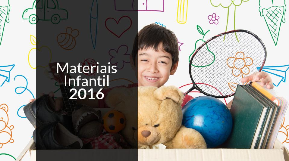 Materiais Ministério da Criança 2016