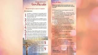 Folheto Compaixão – Semana Santa 2016