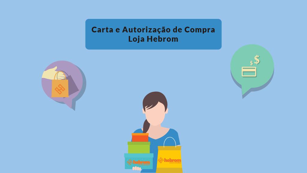 Carta e Autorização de compra Loja Hebrom
