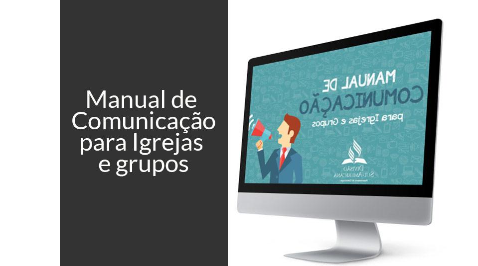 Manual de Comunicação para Igrejas e grupos