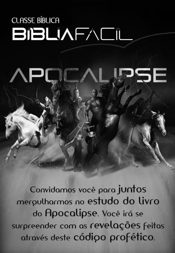 Classe Bíblica Apocalipse – Convite (verso)