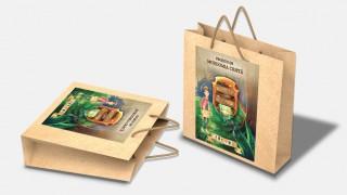 Adesivo para sacolas – Guardiões dos Tesouros