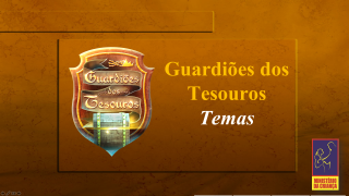 Power Points explicativo – Guardiões dos Tesouros