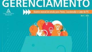 Boletim de Gerenciamento de PG – Abril/2016