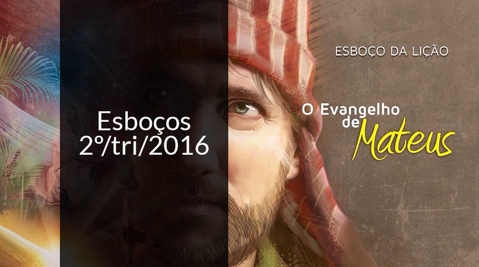 Esboço - II trimestre de 2016