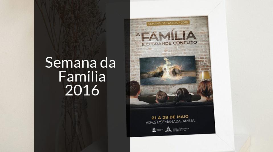 Semana da Família 2016