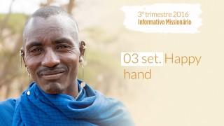 03/Set. Happy hand – Informativo Mundial das Missões 3º/Tri/2016 Curtir Compartilhe