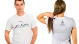 Modelo de Camisa Projeto Maná  – Branca