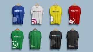 Camisetas Redes Sociais – Meu Talento Meu Ministério