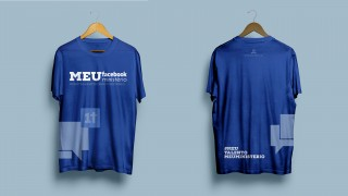Camiseta facebook – Meu talento Meu ministério