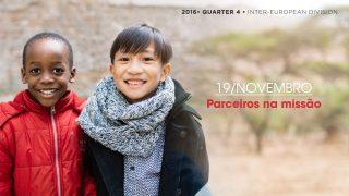 19/nov. Parceiros na missão – Informativo Mundial das Missões 4º/Tri/2016