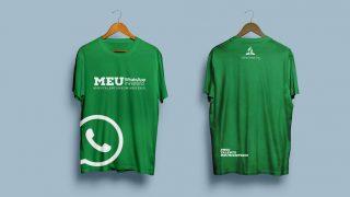 Camiseta Whatsapp – Meu Talento Meu Ministério