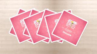 Cartões: Outubro Rosa